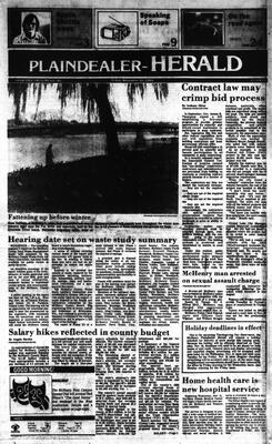 McHenry Plaindealer (McHenry, IL), 16 Nov 1984
