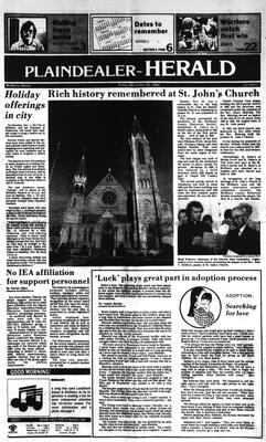 McHenry Plaindealer (McHenry, IL), 30 Nov 1984