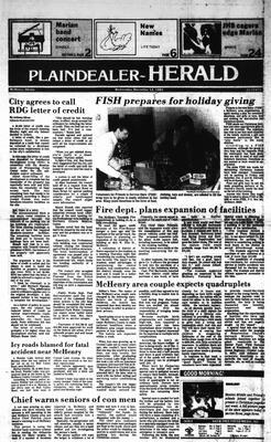 McHenry Plaindealer (McHenry, IL), 12 Dec 1984