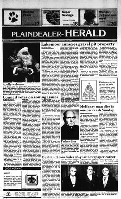 McHenry Plaindealer (McHenry, IL), 19 Dec 1984