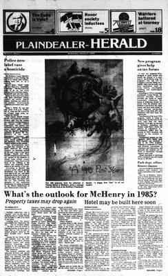 McHenry Plaindealer (McHenry, IL), 2 Jan 1985