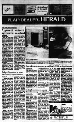 McHenry Plaindealer (McHenry, IL), 1 Feb 1985