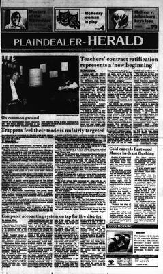 McHenry Plaindealer (McHenry, IL), 8 Feb 1985