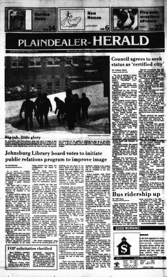 McHenry Plaindealer (McHenry, IL), 13 Feb 1985