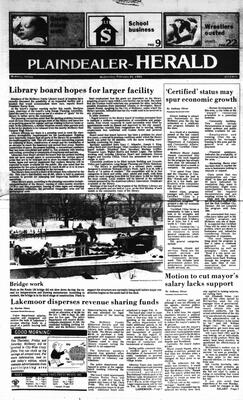 McHenry Plaindealer (McHenry, IL), 20 Feb 1985