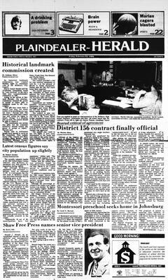 McHenry Plaindealer (McHenry, IL), 22 Feb 1985