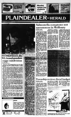 McHenry Plaindealer (McHenry, IL), 12 Apr 1985