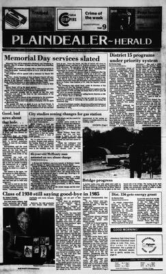 McHenry Plaindealer (McHenry, IL), 24 May 1985