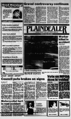 McHenry Plaindealer (McHenry, IL), 26 Jul 1985