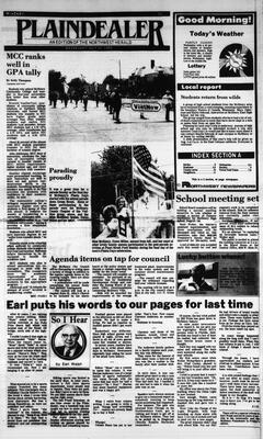 McHenry Plaindealer (McHenry, IL), 31 Jul 1985