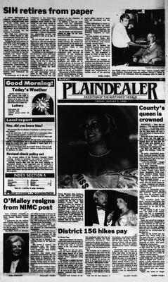 McHenry Plaindealer (McHenry, IL), 2 Aug 1985