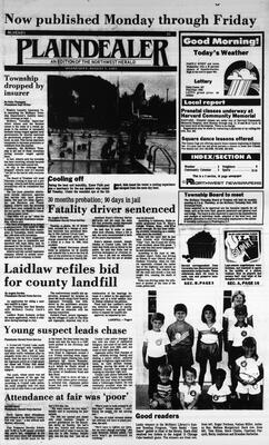McHenry Plaindealer (McHenry, IL), 7 Aug 1985