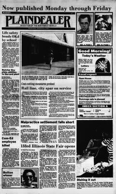 McHenry Plaindealer (McHenry, IL), 8 Aug 1985