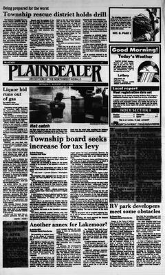 McHenry Plaindealer (McHenry, IL), 12 Aug 1985