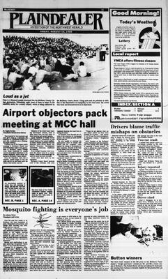 McHenry Plaindealer (McHenry, IL), 16 Aug 1985