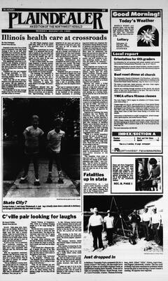 McHenry Plaindealer (McHenry, IL), 19 Aug 1985