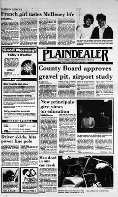 McHenry Plaindealer (McHenry, IL), 21 Aug 1985