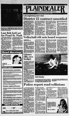 McHenry Plaindealer (McHenry, IL), 22 Aug 1985