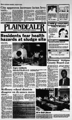 McHenry Plaindealer (McHenry, IL), 23 Aug 1985