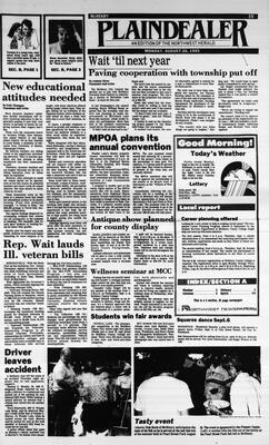 McHenry Plaindealer (McHenry, IL), 26 Aug 1985