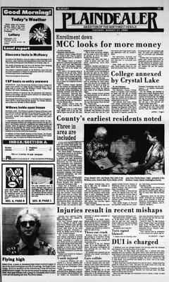 McHenry Plaindealer (McHenry, IL), 27 Aug 1985