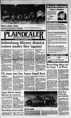 McHenry Plaindealer (McHenry, IL), 5 Sep 1985