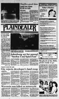 McHenry Plaindealer (McHenry, IL), 6 Sep 1985