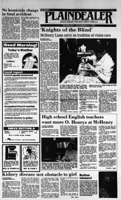 McHenry Plaindealer (McHenry, IL), 11 Sep 1985