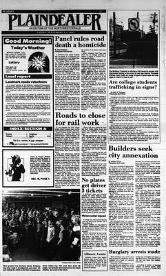 McHenry Plaindealer (McHenry, IL), 13 Sep 1985