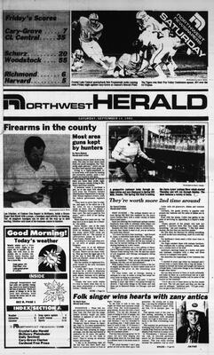 McHenry Plaindealer (McHenry, IL), 14 Sep 1985