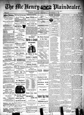 McHenry Plaindealer (McHenry, IL), 28 Sep 1892