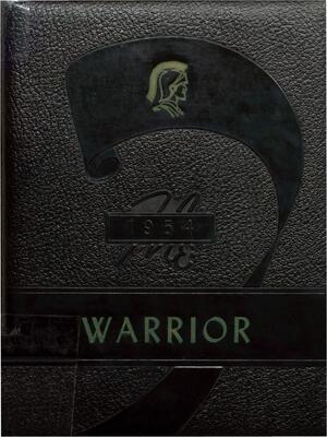 1954 McHenry High School Yearbook - The Warrior