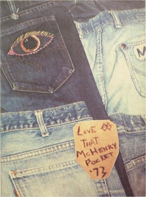 1973 McHenry High School Yearbook - Love That McHenry Pocket '73