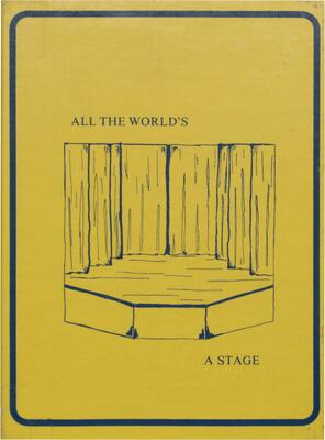 1975 McHenry High School Yearbook - All The World's A Stage