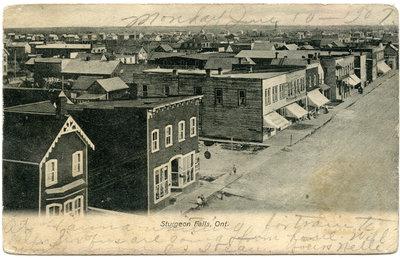 La ville de Sturgeon Falls / The town of Sturgeon Falls