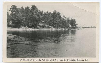 Camp La Plage, Sturgeon Falls / La Plage Camp, Sturgeon Falls