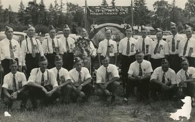 Members of the Loyal Orange Lodge No. 502, Magnetawan, circa 1960