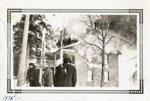 Burning of Klondyke Hotel in Magnetawan, 1936