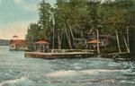 Collage 'Blythwood', Ahmic Lake, circa 1900