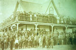 Orangemen's Day Celebration, Day's Hotel, circa 1900