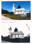 Early and Modern Anglican Churches, Magnetawan, circa 1920 and 1997