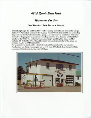Magnetawan Car Care, 4303 Sparks Street North