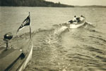 Bang and Go Back Race, Regatta Day, circa 1925