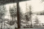 Lake View from a Cabin Window, circa 1915
