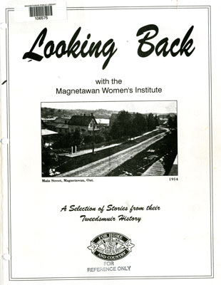 Looking Back with the Magnetawan Women's Institute