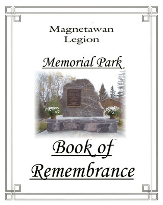 Magnetawan Legion Book of Remembrance