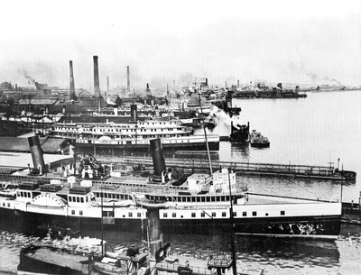 Toronto's Passenger Fleet in 1918