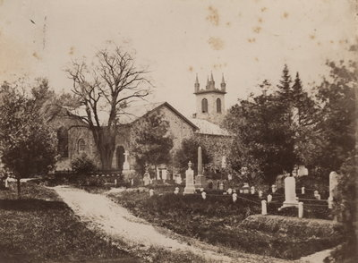 St. Mark's Church in Niagara-on-the-Lake after 1874