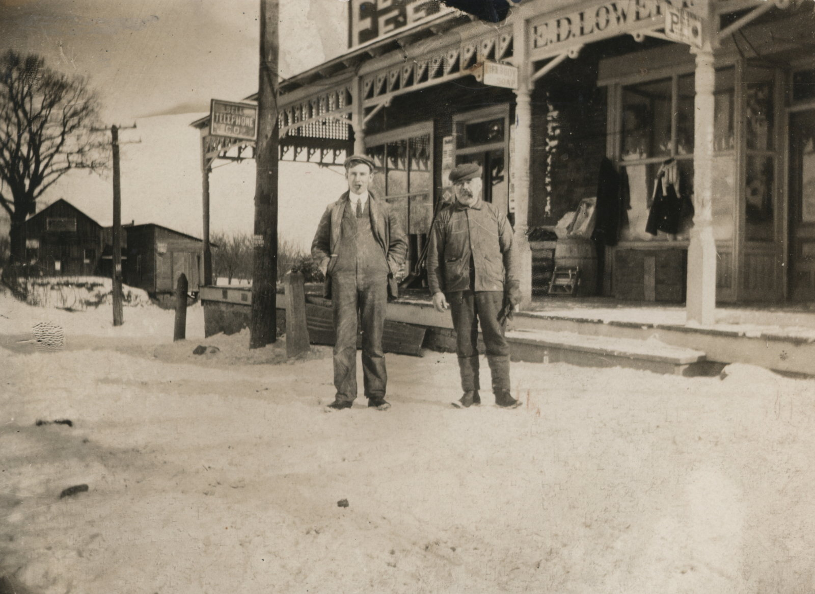 E.D. Lowrey's General Store in St. Davids