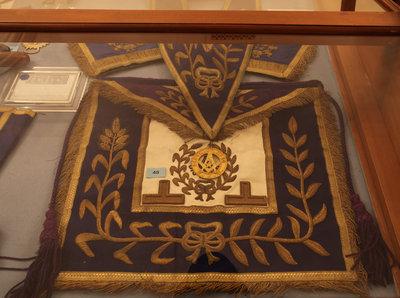 Regalia of Rt. Wor. Bro. J. de W. Randall